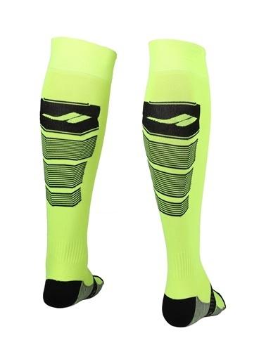 Lescon Lescon La2173 3640 Numara Fosfor Futbol Çorabı Yeşil